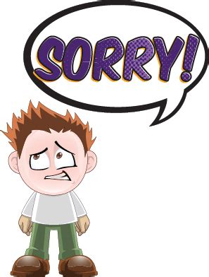 Sorry Clipart I M Sorry So Sorry Tarantin Industries