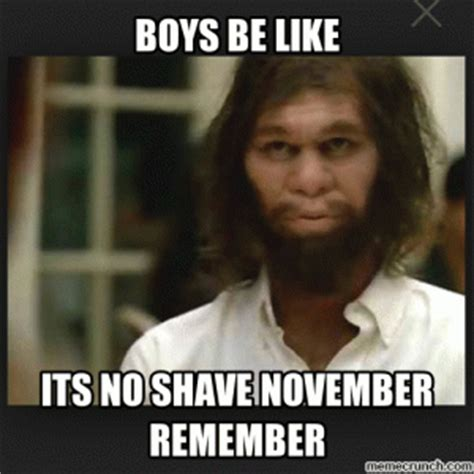 No Shave November Meme No Shave November Meme Kappit
