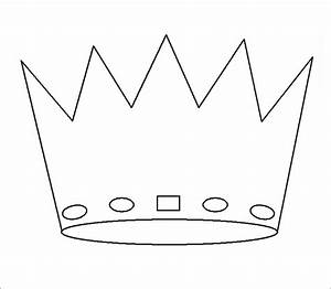 Crown template free templates free premium templates for Kings crown template for kids