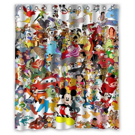 must disney shower curtains for everyone