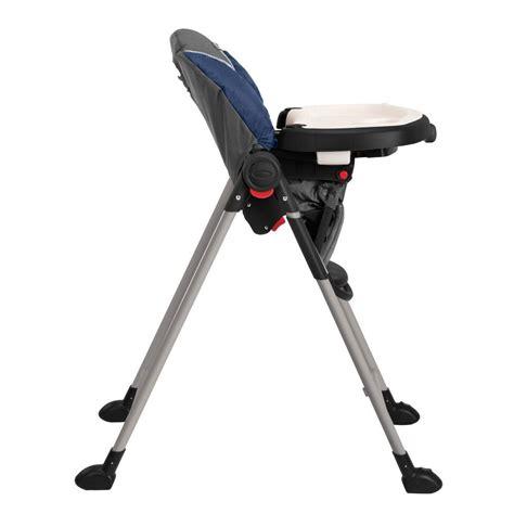 chaise haute graco bleu graco 1918633 contempo baby chaise haute in bleu nuit ebay