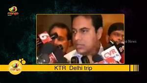 Telangana Minister KTR meets Venkaiah Naidu | Invites for ...