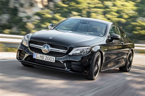 mercedes  class  facelifted amg  coupe