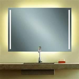 Spiegel Rund Hinterleuchtet : zierath remo lichtspiegel hinterleuchtet 130 x 70 cm ~ Indierocktalk.com Haus und Dekorationen