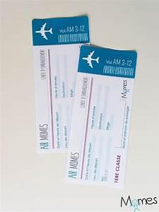 Jeux Pour Mariage Rigolo : faux billet d 39 avion imprimer enfants pinterest ~ Melissatoandfro.com Idées de Décoration