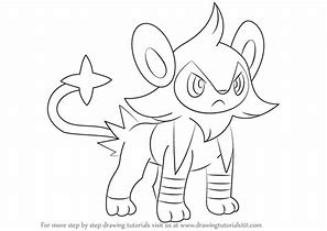 hd wallpapers pokemon coloring pages shinx