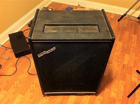 vintage  cordovox cl  leslie rotary speaker cabinet