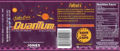 nuka cola quantum fallout  label mjxfaot