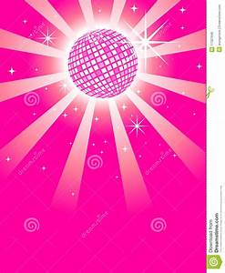 Pink Mirror Discoball stock vector. Illustration of round ...