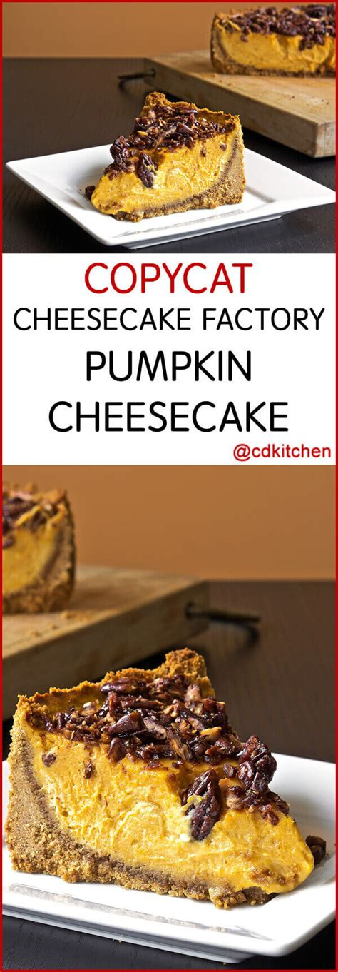 The cheesecake factory® cheesecake delivery shop the cheesecake factory® cheesecakes online at harry & david and choose your favorite from among those available. Copycat Cheesecake Factory Pumpkin Cheesecake Recipe | CDKitchen.com