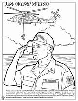 Coloring Guard Coast Pages Force Air Forces Armed National Activity Printable Army Military Books States United Getcolorings Colorings Template sketch template