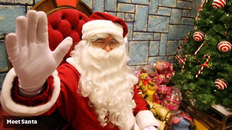 santa s arrival just a day away as david jones starts its