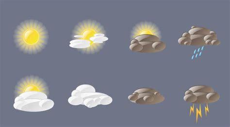 installer meteo sur bureau gratuit icones météo en vectoriel freshpixel