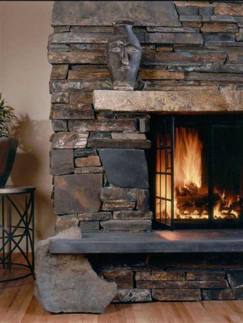 stack fireplace houzz