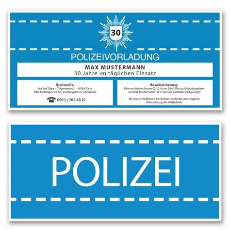einladungskarten als polizeivorladung bestellen