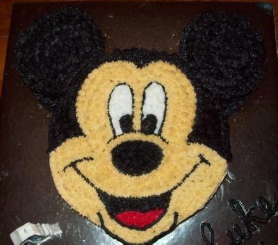lukes st birthday mickey mouse cake