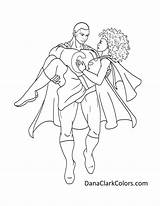 Coloring Couples Beauty Colouring Dana Clark Colors Printable Popular sketch template