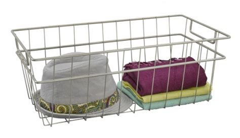 closetmaid wire basket closetmaid large wire basket 31228