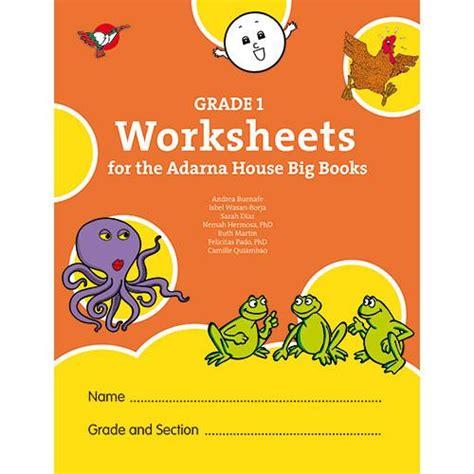 grade  worksheets   adarna house big books