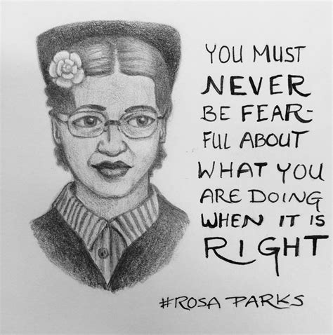 rosa parks draw  day