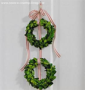 DIY Christmas Decor - Trio of Boxwood Wreaths - Town ...