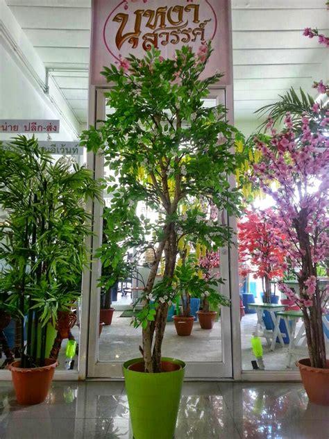 ต้นโมกประดิษฐ์ สูง 1.50 เมตร   ร้านบุหงาสวรรค์ ต้นไม้ประดิษฐ์