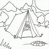 Coloring Camping Tent Printable Colouring Boy Nature Sheets Theme Scene Bestcoloringpagesforkids Crafts Myfreecolouringpages Fire Peaking Pit Head Tents Printables Preschool sketch template
