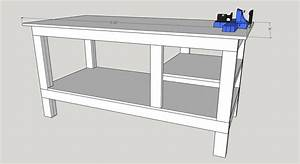 Free Workbench Plans - The DIY Hubs