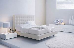 Modern home interior design adjustments white modern for Contemporary white bedroom furniture