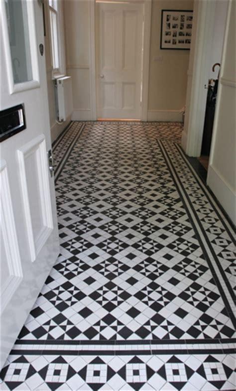 Mosaic Hallway in St.Peter's Road, Twickenham, TW1