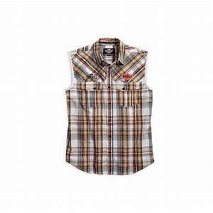 Chemise Sans Col Homme : chemise sans manche carreaux motorcycles legend shop ~ Louise-bijoux.com Idées de Décoration