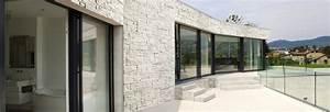 Pierre Parement Extérieur : owens corning modulo pierre reconstitu e pierre de ~ Nature-et-papiers.com Idées de Décoration