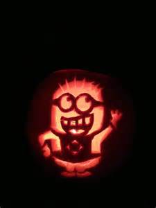 Minion Pumpkin Carving by Minion Pumpkin Carving Holiday Pinterest