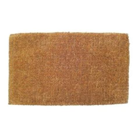 Thick Coir Doormat by Entryways Blank 18 In X 30 In Thick Woven