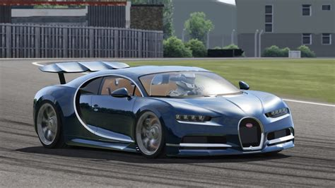 Bugatti Chiron / Top Gear Test Track / Assetto Corsa