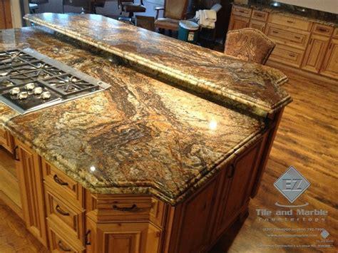 granite tile countertop no grout   Home Decor