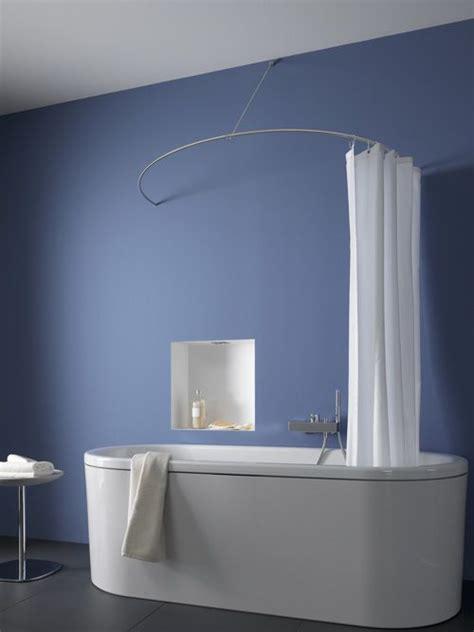 badewanne für die dusche die besten 25 duschvorhangstange ideen auf