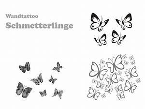 Wandtattoo Kinderzimmer Schmetterlinge : wandtattoo schmetterling 3d oder einzeln ~ Sanjose-hotels-ca.com Haus und Dekorationen