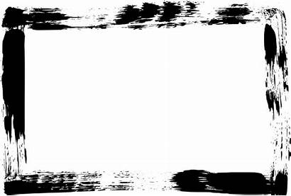 Rectangle Frame Brush Stroke Grunge Transparent Onlygfx