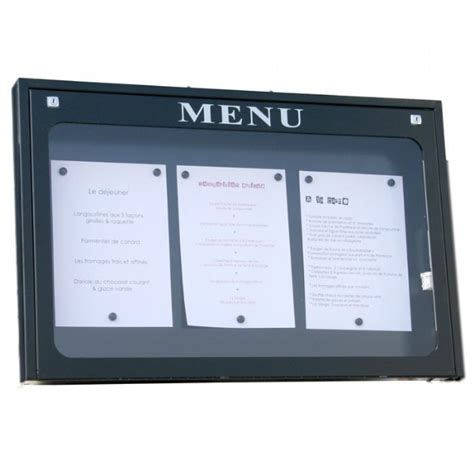 porte menu lumineux exterieur 28 images porte menu lumineux sur pied vepom009 1 porte menu