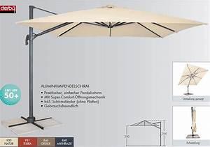 doppler ampelschirm ravenna 3x3m sonnenschirm hulle art With französischer balkon mit derby sonnenschirm ravenna
