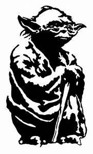 yoda stencils | silhouette | Pinterest