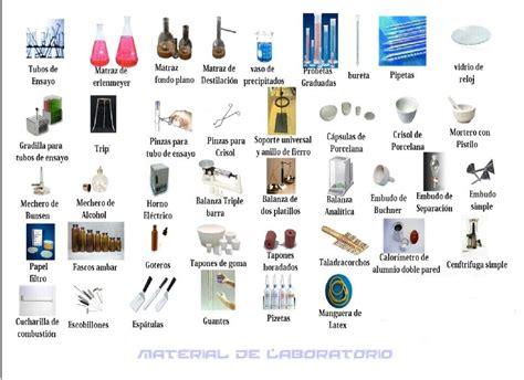 dibujo de 30 instrumentos de laboratorio de quimica con sus nombres brainly lat