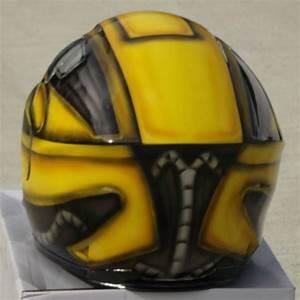 Transformers, Bumblebee, Custom, Painted, Helmet