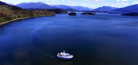 Best Small Boat Alaska Cruise by Alaska Inside Passage Cruise 7 Days 6 Nights All Inclusive