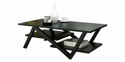 Table Coffee Modern Legs Zag Zig Tables
