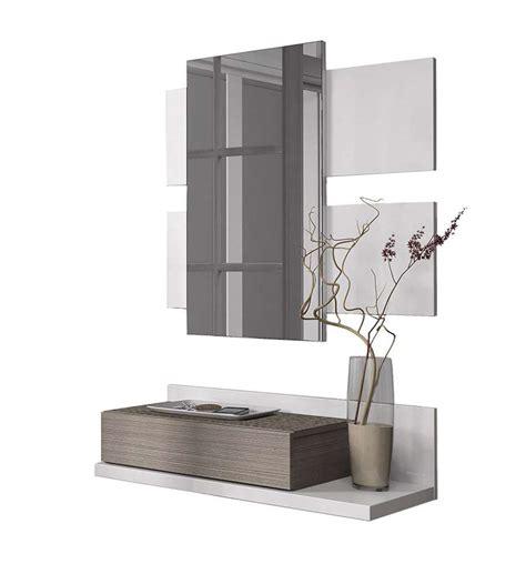 ingresso mobile moderno mobile ingresso moderno con specchio e cassetto da