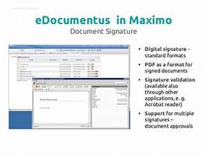 edocumentus document management system for ibm maximo With ibm document management system