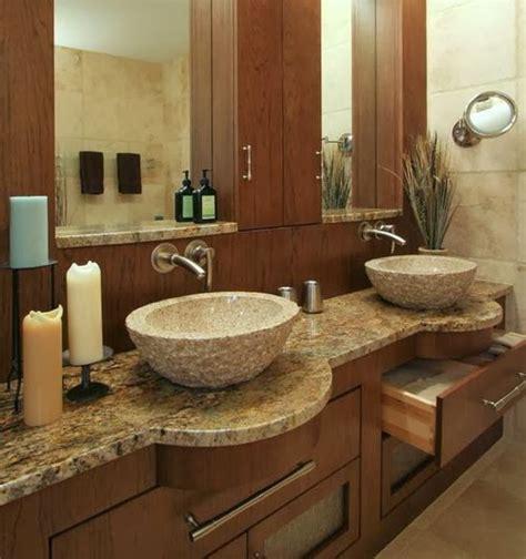 desain kamar mandi minimalis nuansa alam desain rumah