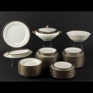 Service De Table Porcelaine : service de table en porcelaine allemande 2011040321 expertissim ~ Teatrodelosmanantiales.com Idées de Décoration